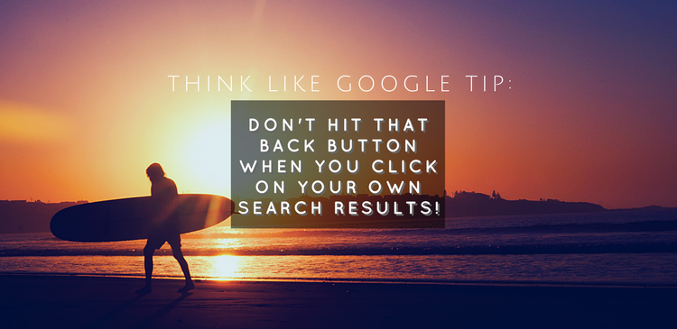 Google Bounce - Get Those Numbers Down!
