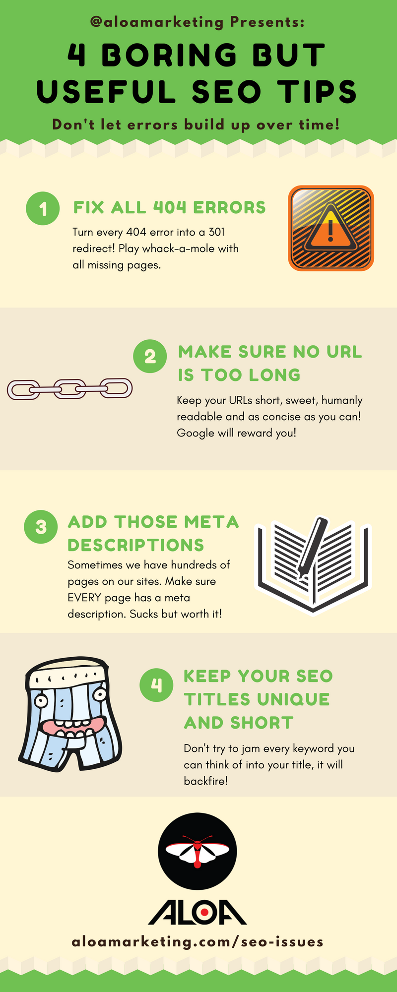 4 Boring but Useful SEO Tips