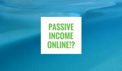 How can I make passive income online?